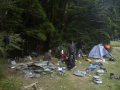 La vie au camp