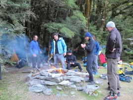 The Sandfly camp