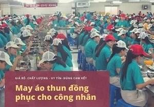 ao thun cong nhan