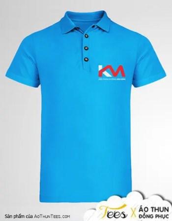 Áo thun đồng phục cửa hàng điện thoại Kim Minh - ao-polo-ca-sau - dtdd kim minh2