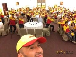 Áo thun đồng phục công ty chuyển phát nhanh DHL Việt Nam - hinh-that-100 - dhl tshirt 9