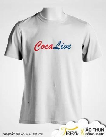 Áo thun CocaLive – Dịch Vụ LiveStream Hàng Đầu Việt Nam - ao-thun-cotton, ao-thun-co-tron - Cocalive 2