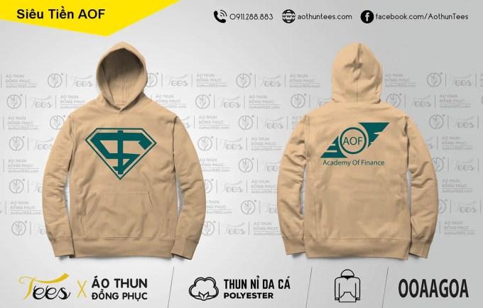 Áo hoodie siêu nhân trường Học viện tài chính AOF - ao-hoodie - Ao khoac Hoc vien tai chinh 05.2. Hoodie22