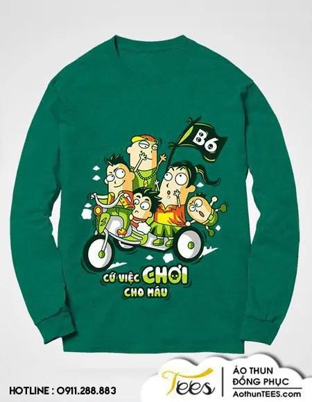 Áo sweater lớp 12B6 - THPT Nguyễn An Ninh - ao-sweater - 12B6 THPT Nguyen An Ninh2