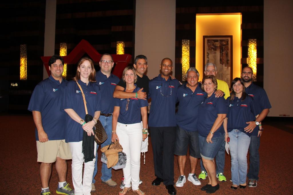 Team Building para el equipo de Supermercados Selectos en Punta Cana.