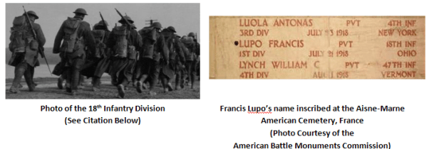 18th-infantry-and-francis-lupos-name1