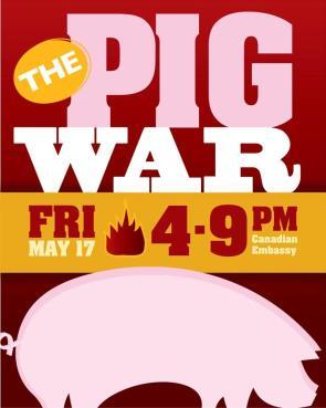 Pig War Flyer