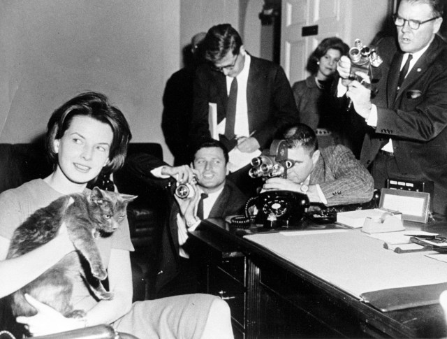 First Lady Jacqueline Kennedy's Press Secretary Pamela Turnure