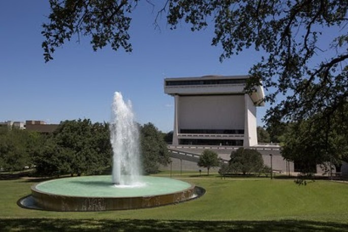 Photo of the Lyndon Baines Johnson Presidential Library and Museum,  courtesy of Jay Godwin, LBJ Foundation