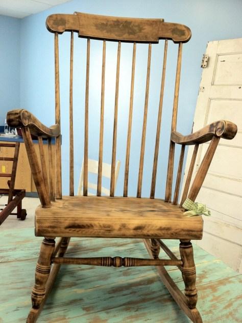 Photo furniture rocking chair