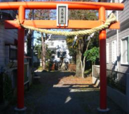 坂戸大安神社鳥居