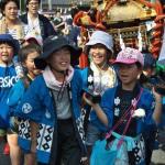 平成30年度坂戸八坂神社夏祭り町内(子供)神輿合同渡御