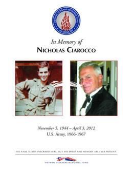 Nicholas Ciarocco