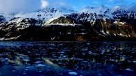 POV picture from Kayak in Alaska