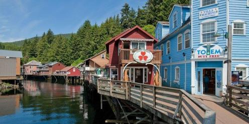 Everyone should travel to Ketchikan or Alaska atleast once in their life to click off those bucket list adventure ideas
