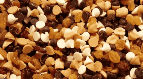 Amazon trail mix is popular and cheap. One of their recipes is called the indulgent trail mix recipe. Filled with dark & white chocolate as well as peanut butter chips. It has a lot of trail mix calories, and is the least healthy trail mix recipes you can buy. It makes a very tasty campfire food treat, and I love to sprinkle this unhealthy trail mix recipe over ice cream. Which is also an easy campfire food to make, and only costs a couple of bucks. Makes a great first night impression among new camping partners.