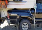 How to make your torklift cabover camper frame mounted tie downs for less than a $100, and takes less than an hour.