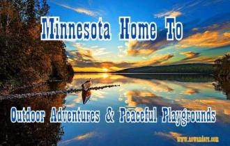 Minnesota home to amazing sunsets, outdoor adventures and peaceful playgrounds. Known as the state of hockey and the land of 10,000 lakes Minnesota could also be known as the fishing capital of the world.