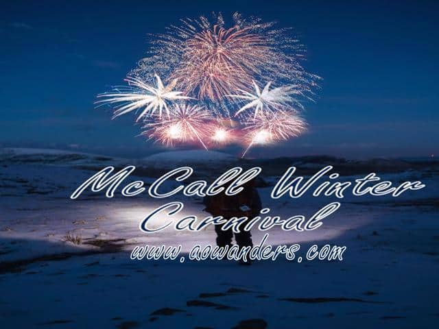 McCall Winter Carnival is host to fireworks, parades, live music and 233 other events over a ten day period