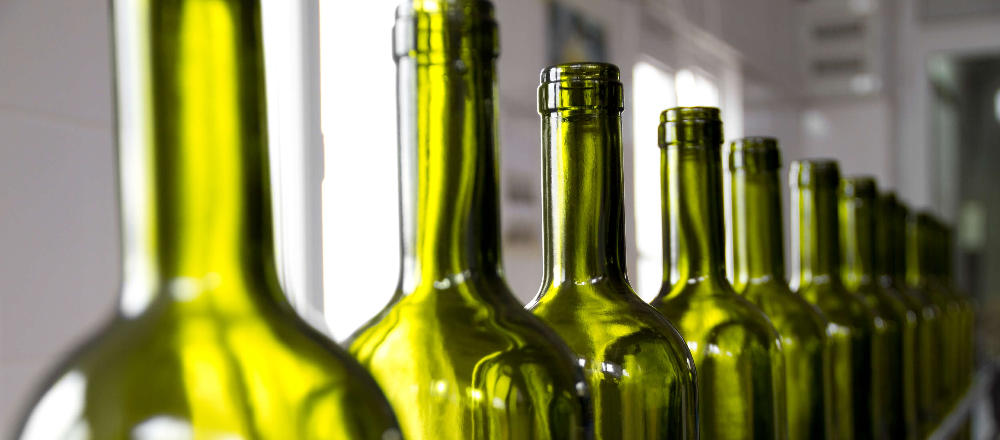 Pre-Harvest Bottling Checklist- clean wine bottles