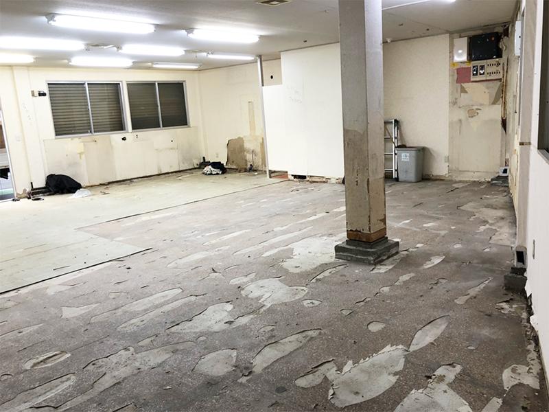 ダンススタジオ解体工事-施工後2