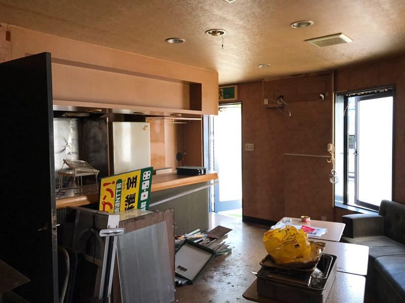 飲食店の解体施工前3