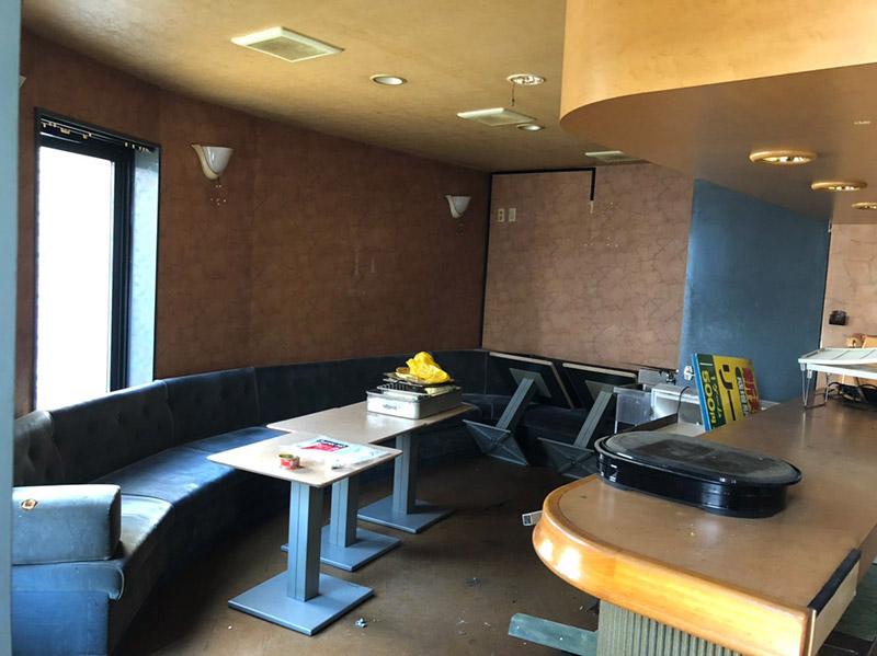 飲食店の解体施工前1