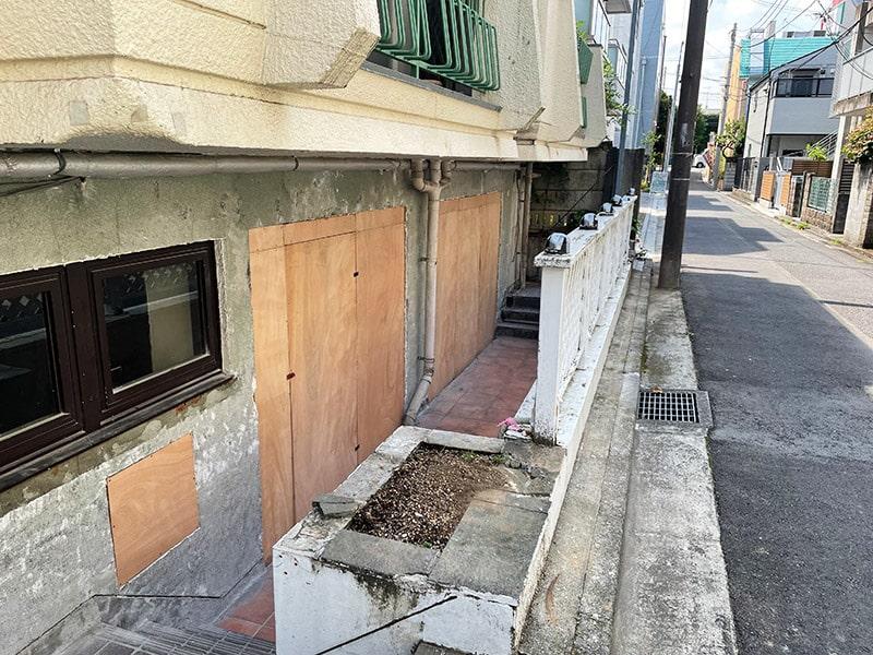 武蔵野市 飲食店の解体工事