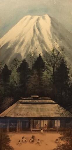 「思い出の富士」穐月明