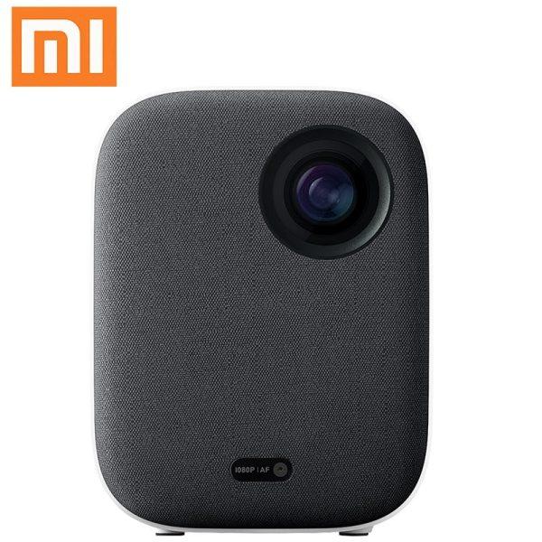 4K Video Xiaomi Mijia DLP Projector 1080P Full HD AI Voice Remote Control 2GB DDR3 8GB eMMC 2.4G / 5G WiFi 3D BT for Home Cinema 1