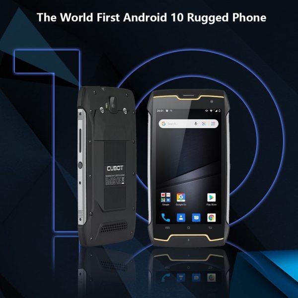 Cubot KingKong CS אנדרואיד 10 IP68 Waterproof Smartphone 5 אינץ 4400mAh פנים מזהה Dual SIM כרטיס טלפון מוקשח טלפון מלך קונג CS 3