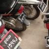 バイクのナンバープレート、取り付け位置や角度にご注意!