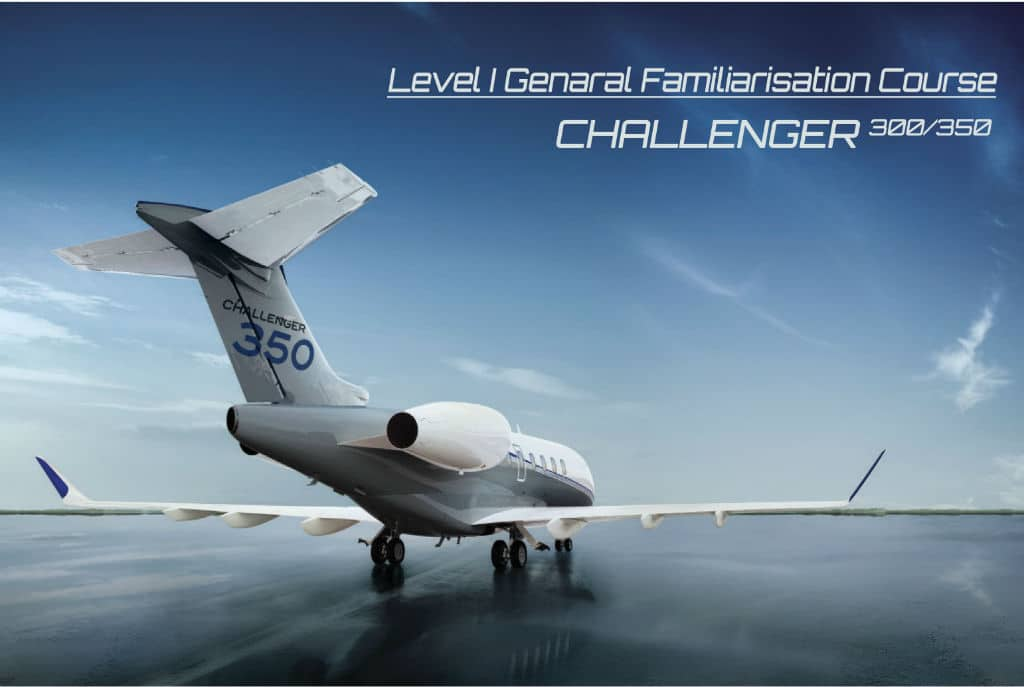 Bombardier Challenger 300/350 General Familiarisation Type Training at AP Malta