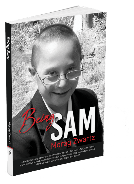Being Sam -- by Morag Zwartz