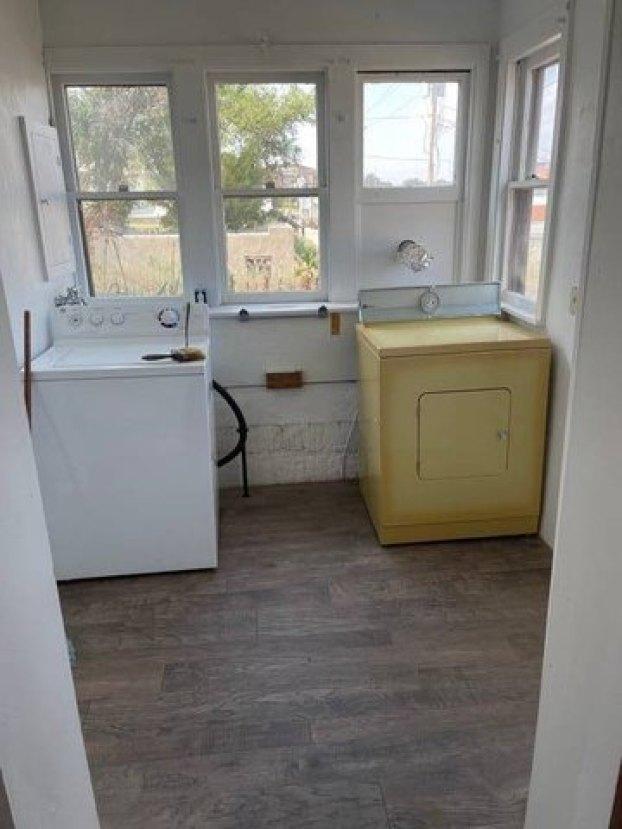 Laundry room featured at 122 W Fifth St, Benkelman, NE 69021