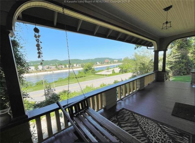 Water front featured at 1321 Maccorkle Ave SE, Charleston, WV 25314
