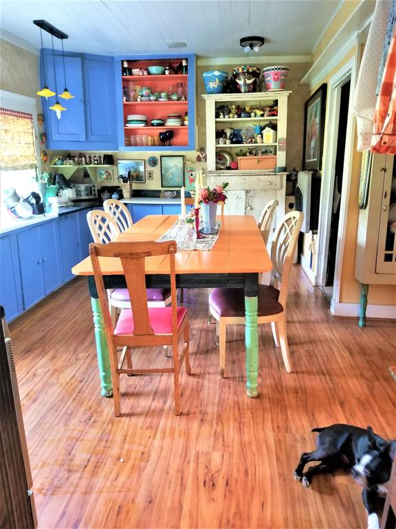 Dining room featured at 125 Fort Springs Turnpike Rd, Sinks Grove, WV 24976