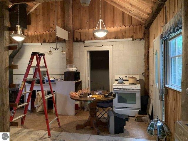 Kitchen featured at 17593 22 Mile Rd, Tustin, MI 49688