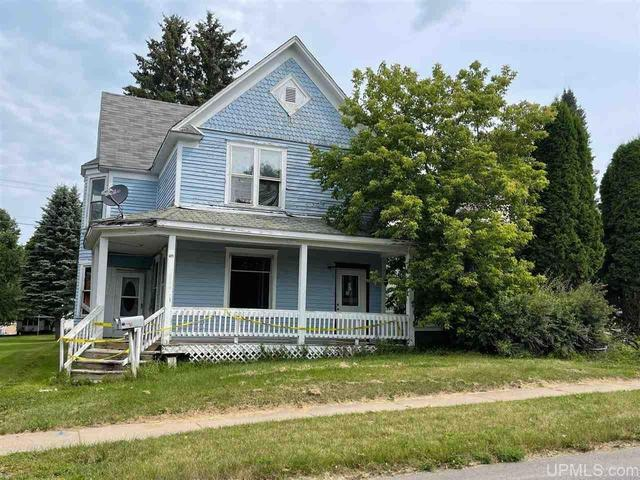 Porch featured at 411 Cherry St, Iron River, MI 49935