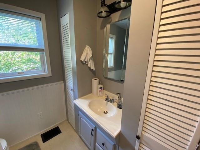 Bathroom featured at 500 Long Fork Rd, Kimper, KY 41539