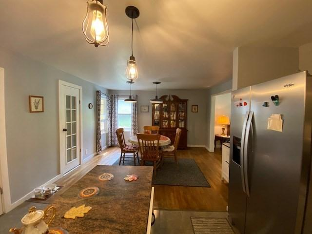 Dining room featured at 500 Long Fork Rd, Kimper, KY 41539