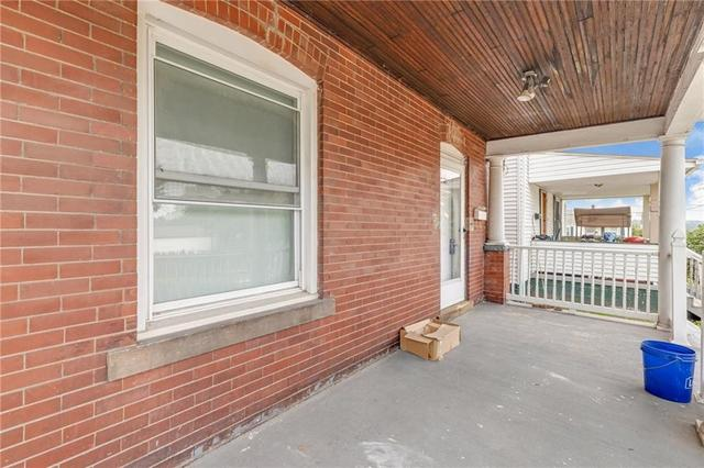 Porch featured at 608 Chestnut St, New Castle, PA 16101