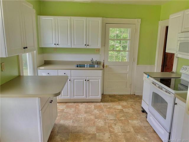Kitchen featured at 85 Brightwood Ave, Torrington, CT 06790