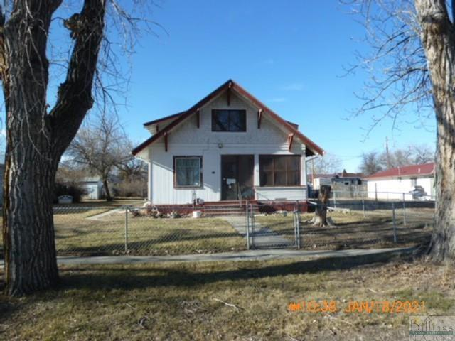 House view featured at 209 Orchard St, Hysham, MT 59038