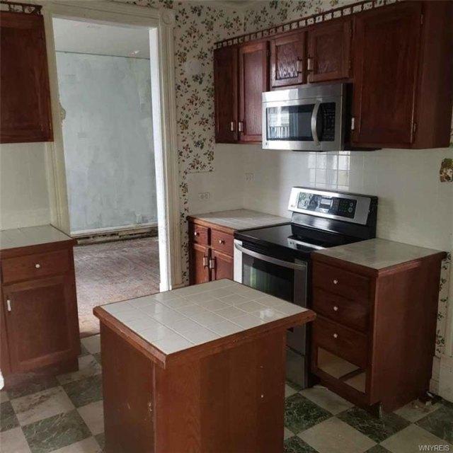 Kitchen featured at 207 Main St, Theresa, NY 13691