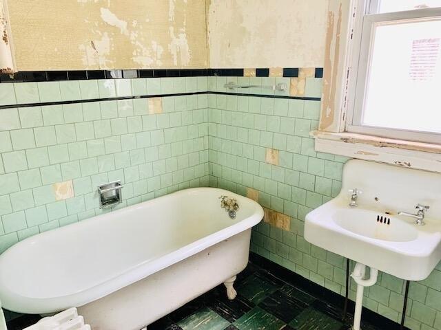 Bathroom featured at 629 Roxbury St, Clifton Forge, VA 24422