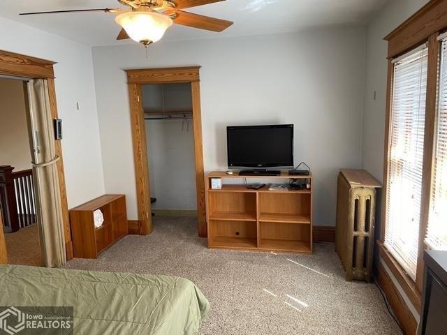 Bedroom featured at 807 N 8th St, Burlington, IA 52601