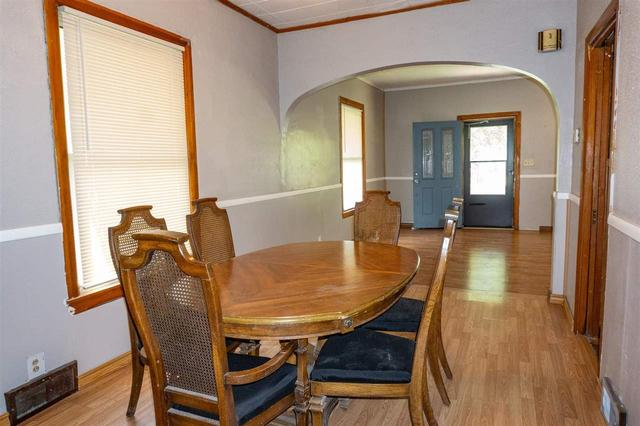 Dining room featured at 314 S Broadway St, Herington, KS 67449