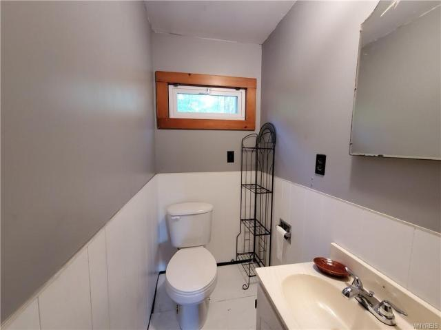 Bathroom featured at 50 Morningside Dr, Arcade, NY 14009