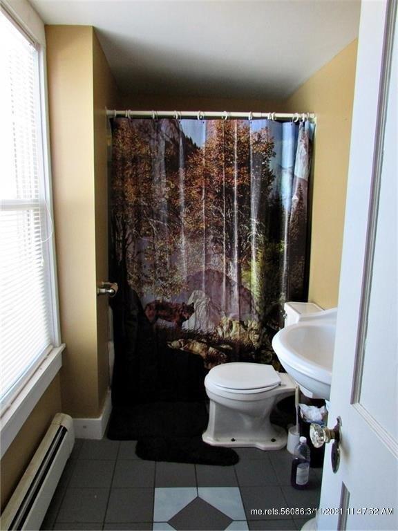 Bathroom featured at 43 Main St, Ashland, ME 04732